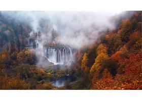 瀑布,瀑布,壁纸,(4)图片