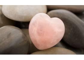 石头,心形的,粉红色,壁纸,图片