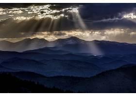 阳光,自然,云,山,风景,壁纸,图片