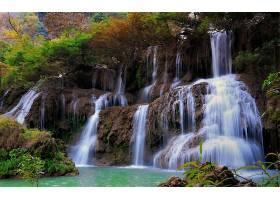瀑布,瀑布,岩石,壁纸,(4)图片