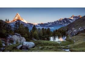 地球,风景,自然,山峰,山,湖,树,壁纸,图片