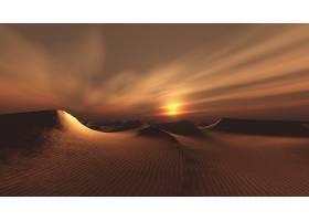 沙漠,风景,沙丘,沙,地平线,壁纸,