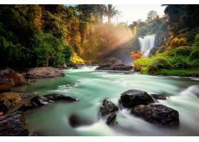 瀑布,瀑布,自然,河,岩石,壁纸,(4)图片