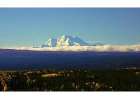 地球,风景,自然,森林,山,阿拉斯加,壁纸,图片