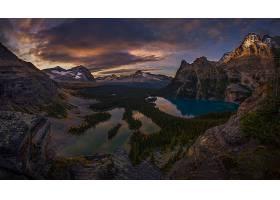 地球,风景,自然,森林,湖,山,全景画,壁纸,图片