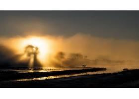 阳光,自然,雾,风景,太阳,壁纸,图片