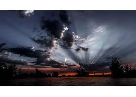阳光,自然,风景,云,天空,日出,壁纸,图片