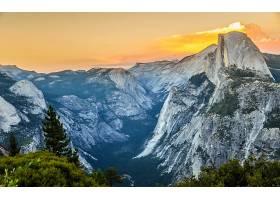 山谷,自然,山,风景,壁纸,图片