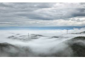 雾,地平线,风景,云,力量,线条,壁纸,图片