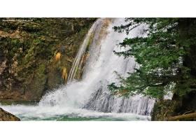 瀑布,瀑布,自然,西班牙,植物,水,卡斯蒂利亚,a音的唱名,曼恰,壁纸图片