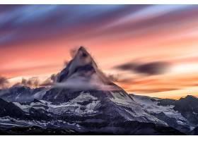 地球,马特洪峰,山脉,自然,山,山峰,天空,云,悬崖,壁纸,图片