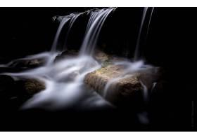 瀑布,瀑布,自然,岩石,壁纸,(7)图片