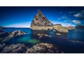 岩石,自然,海洋,壁纸,图片
