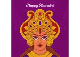 创意印度排灯节主题传统节日矢量装饰背景