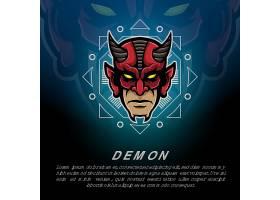 超级英雄主题游戏徽章图标LOGO设计