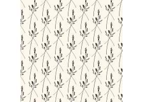 简洁植物细枝无缝装饰背景