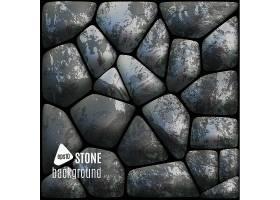 鹅卵石材质墙壁地板矢量装饰背景