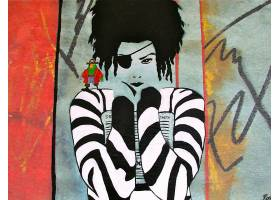 涂鸦,绊倒,引起幻觉的,城市的,城市的,艺术,壁纸,(1)