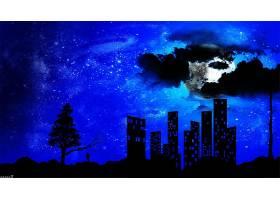 夜晚,壁纸,(11)