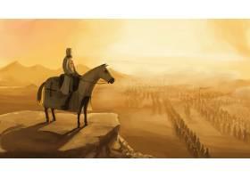幻想,爵士,勇士,改革运动,马,军队,沙漠,风景,壁纸,