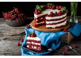 食物,蛋糕,仍然,生活,水果,浆果,面粉糕饼,覆盆子,壁纸
