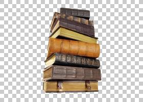 陈旧复古的古老书本书籍