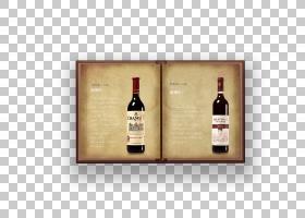 复古红酒洋酒介绍书本书籍