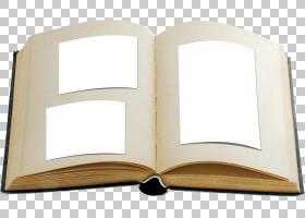 打开的相册书本书籍