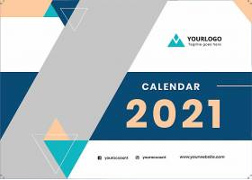 2021台历封面设计