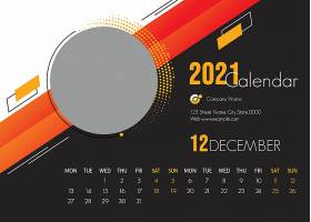 2021台历模板