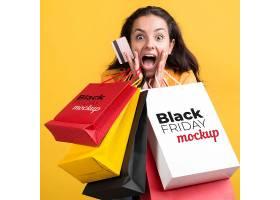 创意电商通用黑色星期五促销上新打折海报