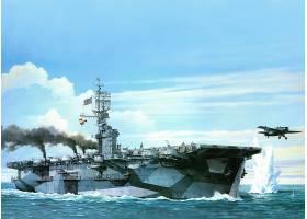 军队,一致的,州,海军,军舰,飞机,带菌者,美国军舰,Gambier,海湾,