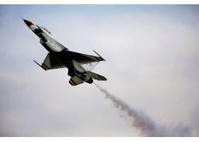 军队,一致的,州,天空,武力,雷鸟,喷气式飞机,战士,喷气式飞机,战