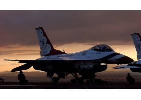 军队,一致的,州,天空,武力,雷鸟,喷气式飞机,战士,飞机,一般,力学