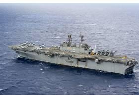 军队,一致的,州,海军,军舰,美国军舰,博诺姆,理查德,军舰,两栖的,
