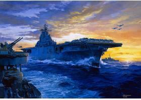 军队,一致的,州,海军,军舰,美国军舰,美国弗吉尼亚州东南部城镇,
