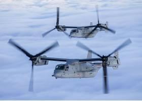 军队,钟,波音,V-22,鱼鹰,军队,直升机,运输,飞机,飞机,壁纸,(1)