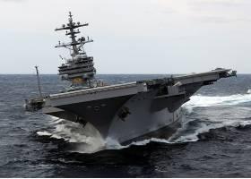 军队,美国军舰,乔治,H.W .,布什,(CVN-77),军舰,一致的,州,海军,