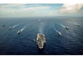 军队,美国军舰,乔治,华盛顿,(CVN-73),军舰,一致的,州,海军,海军,