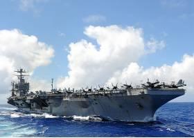 军队,美国军舰,亚伯拉罕,林肯,(CVN-72),军舰,一致的,州,海军,美