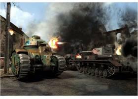 军队,坦克,坦克,战争,战役,世界,战争,二,壁纸,