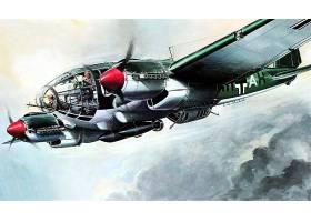 军队,亨克尔,他,111,轰炸机,壁纸,