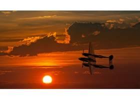 军队,洛克希德公司,P-38,闪电,军队,飞机,壁纸,(15)