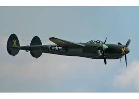 军队,洛克希德公司,P-38,闪电,军队,飞机,壁纸,(9)
