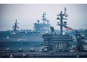 军队,飞机,带菌者,军舰,美国军舰,卡尔,罗宇胜,美国军舰,罗纳德,