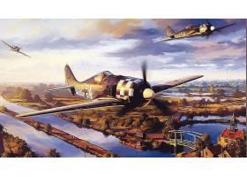 军队,福克-伍尔夫,淡水,190,军队,飞机,壁纸,(1)