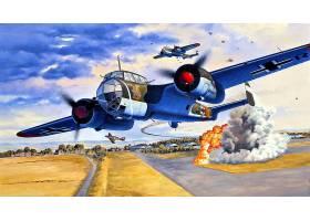 军队,多尼尔,做,17,轰炸机,壁纸,