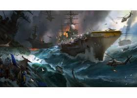 军队,战役,战争,直升飞机,带菌者,军舰,直升飞机,飞机,带菌者,壁