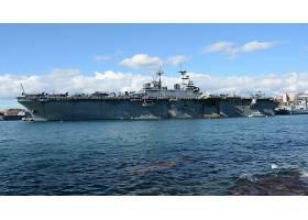 军队,美国军舰,黄蜂,(LHD-1),美国军舰,黄蜂,一致的,州,海军,两栖