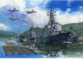 军队,船,军舰,驱逐舰,飞机,带菌者,军舰,壁纸,